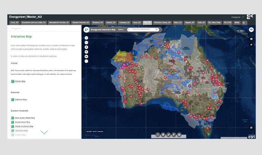 Interactive Map   National Energy Market