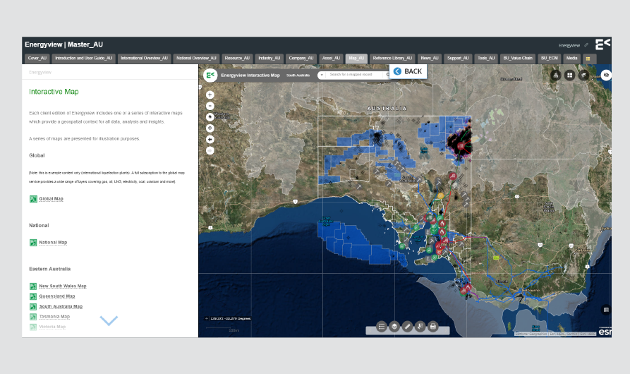Interactive Map | South Australia Energy Market